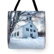 Etna Center Church Tote Bag