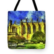Eton College Chapel Art Tote Bag