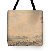 Eton College From The South Tote Bag