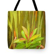 Eucalyptus And Leaves Tote Bag