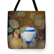Eucalyptus And Vase Tote Bag