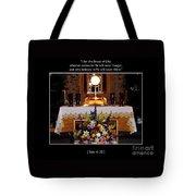 Eucharist I Am The Bread Of Life Tote Bag