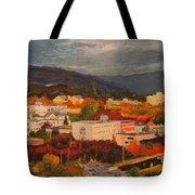 Eugene In Fall Tote Bag