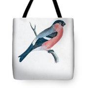 Eurasian Bullfinch Artwork Tote Bag
