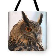 Eurasian Eagle-owl Tote Bag