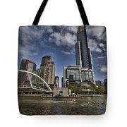 Eureka Tower-view From Cityside Tote Bag