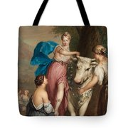 Europa And The Bull. Tote Bag