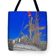 Europa Docks In Sydney Tote Bag