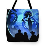 Europa Space Travel Tote Bag