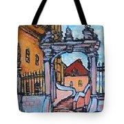 Europe Church Tote Bag