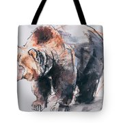 European Brown Bear Tote Bag
