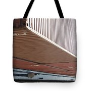 European Container On Barge Tote Bag