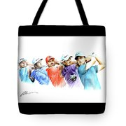 European Golf Champions Race 2017 Tote Bag