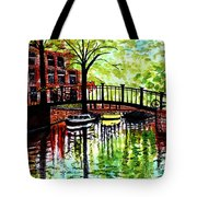 European Travels Tote Bag