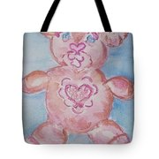 Ev Teddy Tote Bag