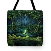 Evanescent Calling Tote Bag