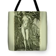 Eve With A Stag Tote Bag