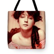 Evelyn On Aquarell Tote Bag