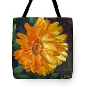 Even The Flowers In Autumn Are Golden Tote Bag
