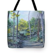 Even The Trees Praise Tote Bag