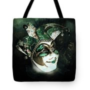Even With Her Mask, Her Eyes Give Her Away Tote Bag