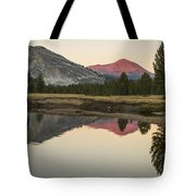 Evening Alpenglow  Tote Bag