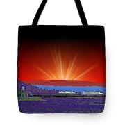 Evening At Alki Tote Bag