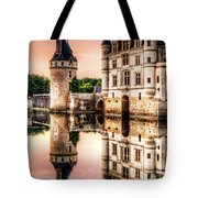 Evening At Chenonceau Castle Tote Bag