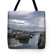 Evening At Custom House Quay - Falmouth Tote Bag