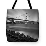 Evening At Golden Gate Bridge Tote Bag