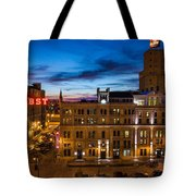Evening At Pabst Tote Bag