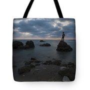 Evening At Sidna Ali Beach 3 Tote Bag