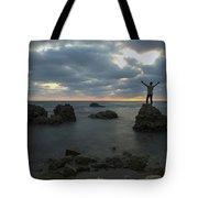 Evening At Sidna Ali Beach 2 Tote Bag