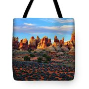 Evening At The Doll House Tote Bag by Greg Norrell