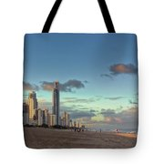 Evening At The Gold Coast Tote Bag
