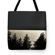 Evening At The Lake Tote Bag
