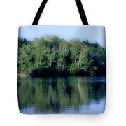 Evening At The Lake Tote Bag