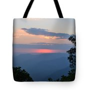 Evening At Yosemite  Tote Bag