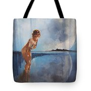 Evening Bath Tote Bag
