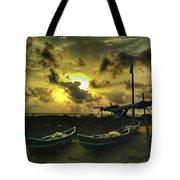 Evening Beach Tote Bag