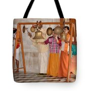 Evening Bells At The Temple Tote Bag