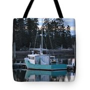 Evening Boat Tote Bag