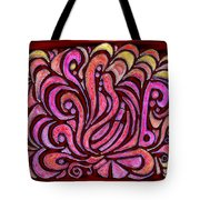 Evening Bonfire Tote Bag