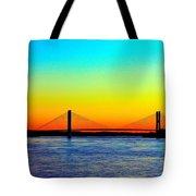 Evening Bridge Tote Bag