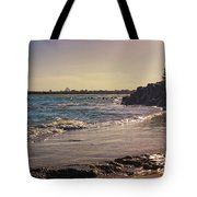Evening By The Beach Tote Bag