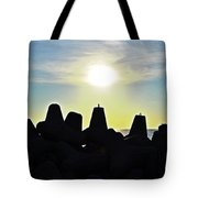 Evening By The Sea Tote Bag