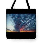 Evening Sky In Kansas Tote Bag