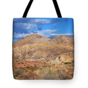 Evening Colors Of The Desert Tote Bag