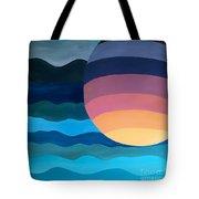 Evening Dip Tote Bag