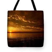 Evening Drama Tote Bag